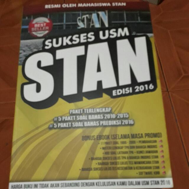 Sukses USM STAN edisi 2016