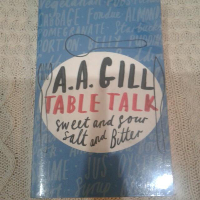 Table Talk - AA Gill