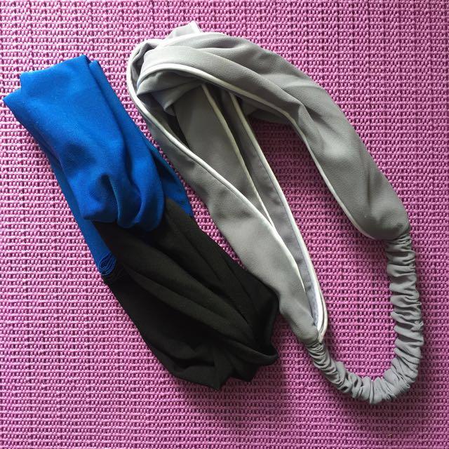 take all 50rb : headband, bando, bandana,