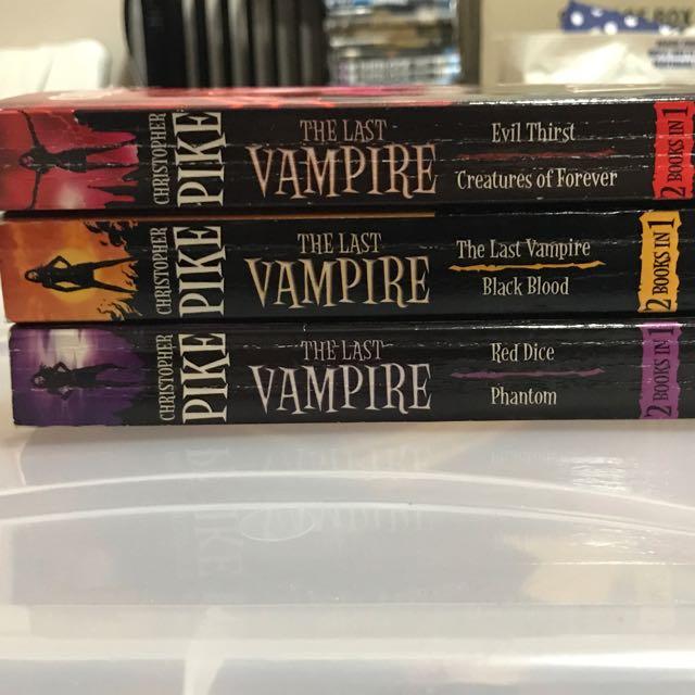 The Last Vampire Series