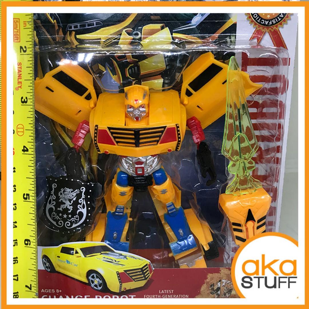Tranformer Bumblebee Like Toy Robot