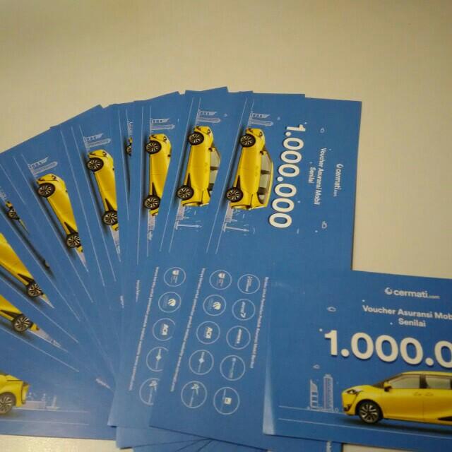Voucher asuransi mobil dari cermati.com