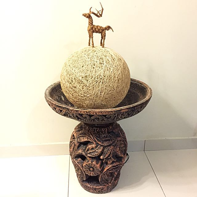 Water Fountain Bowl Deco