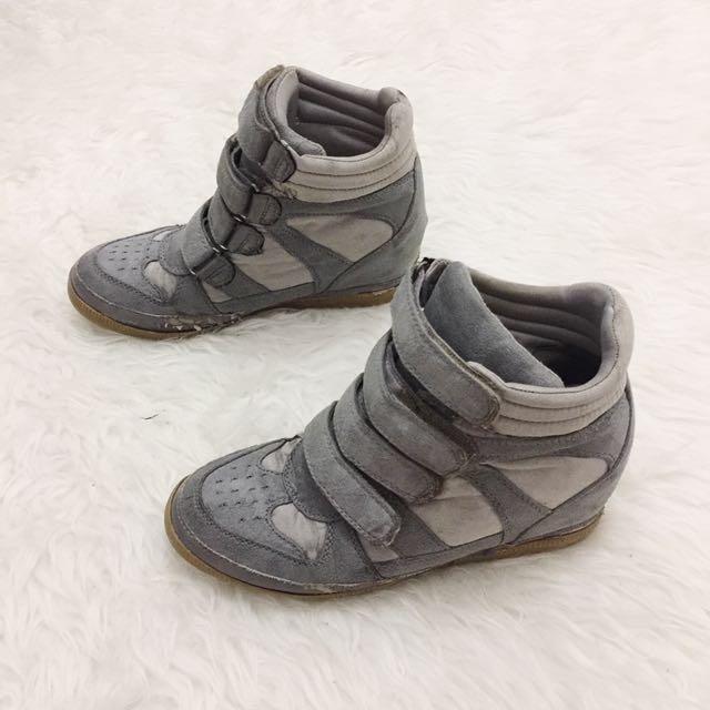 Wedges sneakers / sepatu hak / sneakres