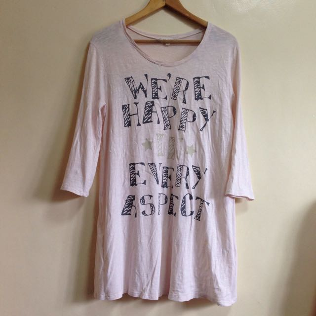 """We're Happy In Every Aspect"" Statement Clothing"