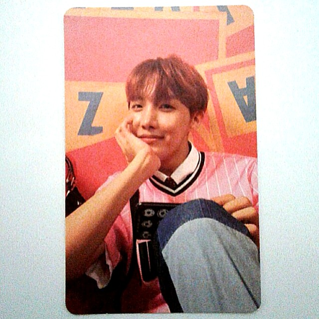 wtt bts love yourself her  jhope photocard e version 1506672584 764df7b8
