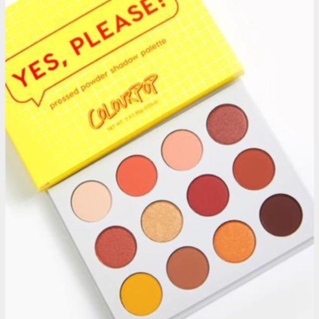 Yes Please (colourpop)眼影盤