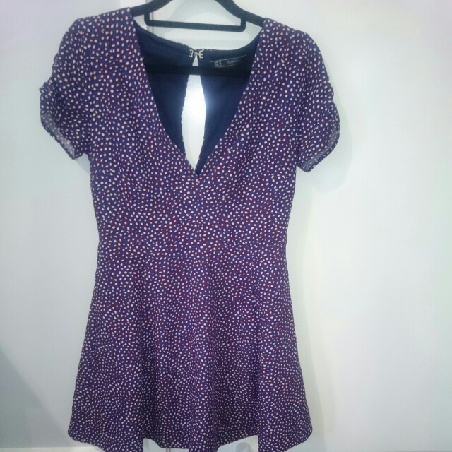 Zara size 28 - printed dress