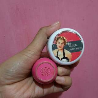 Oriflame tender care & lip scrub