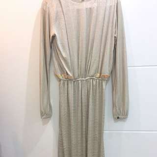 Long dress (safaya, size L-M)