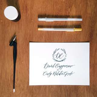 Customised Art - Calligraphy Writing Messages and Illustrations