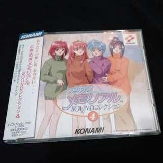 (破底價$69包平郵) konami game 心跳回億 ost 日版cd