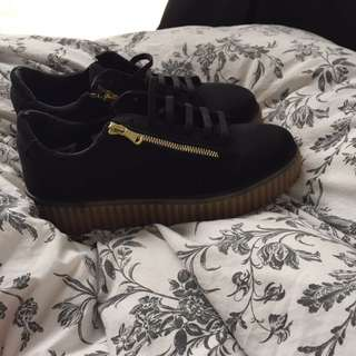 Asos lifted sneakers