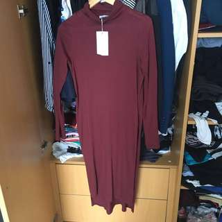 ZARA maroon Dress **REPRICE***
