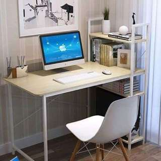 Study Table with Bookrack