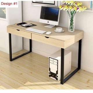 Modern Study / Office Table with Drawers