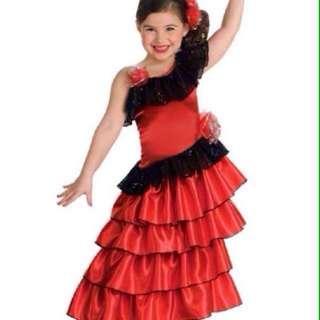 Costume spanish princess