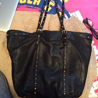 Steve Madden Black Studded Bag