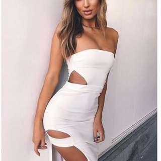Renting tigermist dress
