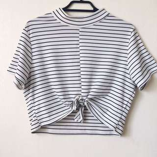 STRIPY CROP TOP
