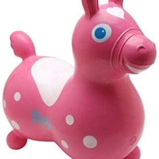 Baby riding horse Gymnic Rody Horse Sport Pink