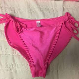 American apparel hot pink bikini bottom