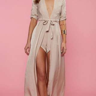 Maxi Playsuit Mocha