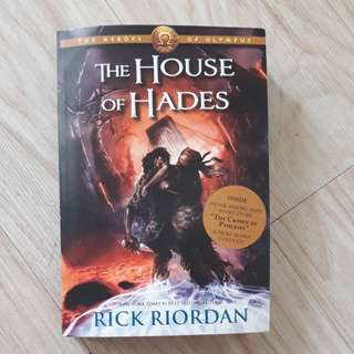 (Book four) The House of Hades