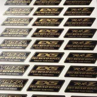 MotoGP Replica Stickers