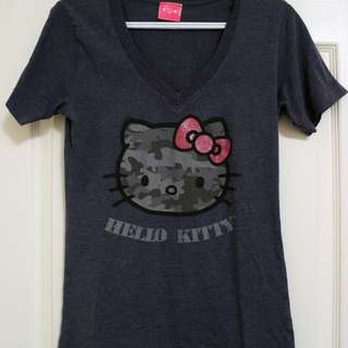 Cute Hello Kitty v-neck