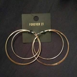 Forever 21 Hoop Earrings