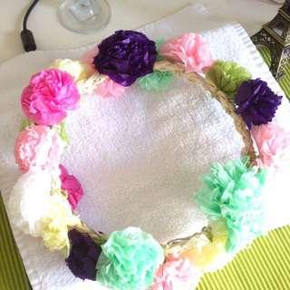 Handmade Floral Head Wear