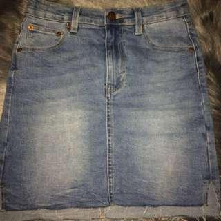 Ziggy Denim High Waisted Skirt