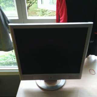 "Used 17"" HP monitor with speaker for sale"