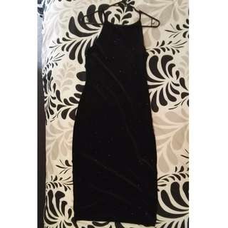 Top Shop Evening Black Dress