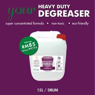 ON SALE -  HEAVY DUTY DEGREASER (15 Litres)