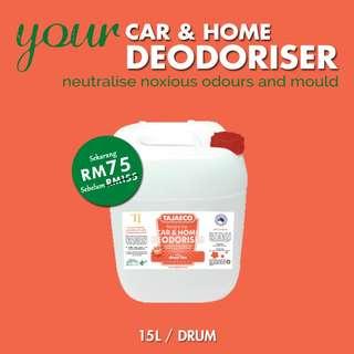 SPECIAL PROMO - CAR & HOME DEODORISER (15 Litres)