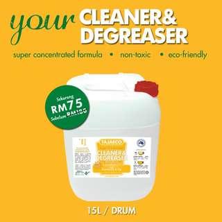 ON SALE - CLEANER & DEGREASER (15 Litres)