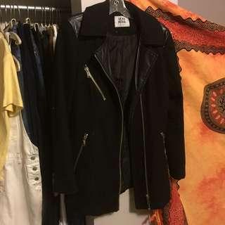 Vera Moda Black Coat size M