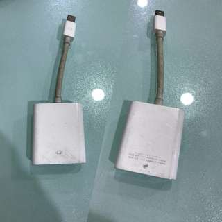 🚚 我最便宜 APPLE  Mini DisplayPort 轉 VGA 轉換器