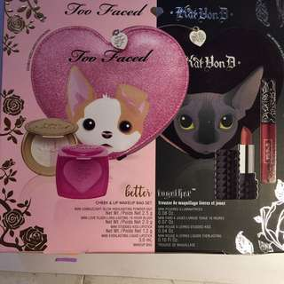 Kat Von D & Too Faced Collaboration (Limited Edition)