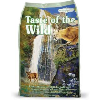 5 instock - Taste of the wild 7kg - Rocky Mountain Feline