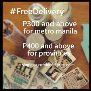 Free Delivery (Limited Time Only)