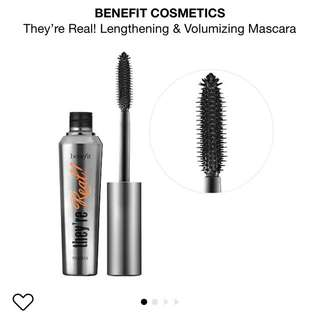 Benefit- they're REAL! Mascara