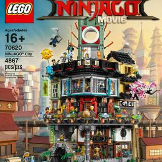 Lego 70620 Ninjago City