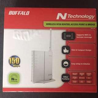 Buffalo Wireless N150 router