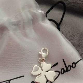 Thomas Sabo Four Leaf Clover Sterling Silver Charm