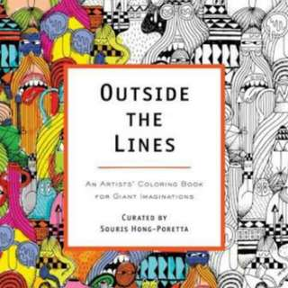 Outside The Lines Adult Coloring Book
