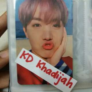 BTS You Never Walk Alone : J-HOPE photocard