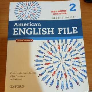 American English File 2 OXFORD